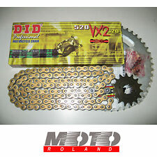 KIT TRASMISSIONE CATENA HONDA CBR 600 RR '03-'06 DID 520 VX2 ORO X-RING PBR PROM