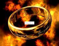 Anillo de EL SEÑOR DE LOS ANILLOS The Lord of the Ring  Talla 10: Grande A836