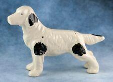 Vintage Ceramic 3 Inch English Setter Dog Figurine Made In Japan