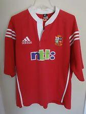 Vintage Adidas British & Irish Lions 2001 SS Rugby Jersey Australia Tour Men 2XL