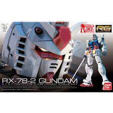RG RX-78-2 Gundam 1/144 From Gundam Kit Plastic Model Kit Bandai Spirits Gunpla