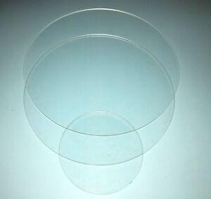 69,90€m² / PLEXIGLAS® klar Runde Platte Ø 100mm - 900mm 2mm bis 5mm Stärke