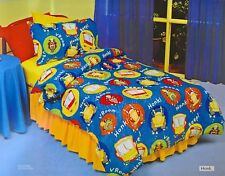 ~ Honk Vroom - DOONA SINGLE BED BEDROOM QUILT DUVET COVER Car Bus Bike Vehicle