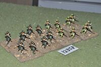 25mm WW1 / generic - Japanese infantry 16 figures - inf (12358)