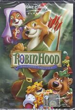 Dvd Disney **ROBIN HOOD** nuovo 1974