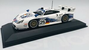 Minichamps 1/43 Porsche 911 GT 1 #25 Le Mans 1997 AG Stuck/Wollek 430976825