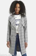 Topshop Knee Length Women's Trench Coats