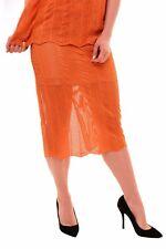 Keepsake Women's Amazing Think Twice Lace Skirt Tangerine S RRP $ 150 BCF79