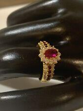 22 carat gold ruby ring