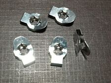 """5 pc PAL carburetor linkage retainer clips for 1/8"""" rod NORS fits Dodge Plymouth"""