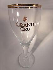 BEER Stem GLASS ~ Brouwerij St FEUILLIEN Grand Cru ~*~ Le Roeulx, Belgium Bier