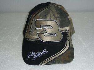 Dale Earnhardt #3 Team Realtree Racing Chase NASCAR Camo Hat Adjustable NEW