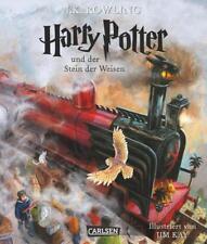 Harry Potter und der Stein der Weisen (vierfarbig illustrierte Schmuckausgabe) (Harry Potter 1) von Joanne K. Rowling (2015, Gebundene Ausgabe)