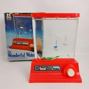 The Wonderful Waterfuls 1976 TOMY Water Toys Ring Toss RARE Original Box