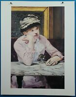 "50 French Imperessionist Masterpiece Edouard Manet ""The Plum"" Print"