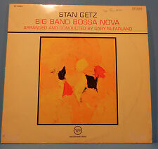 STAN GETZ BIG BAND BOSSA NOVA LP 1962 GERMANY ORIGINAL GREAT COND! VG+/VG!!B