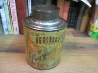 ANTIQUE HERO COFFEE CAN TIN W Mc LAUGHLIN & CO 1890'S ORIGINAL GENERALS