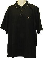 Nuevo Nike Golf POLOS NEGRO xxlt