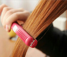 Hairdressing Tool Unisex Hair Crimper Electricity Straightener Splint  us plug