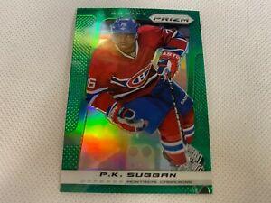 ⭐️👀 2013-14 Panini Prizm Prizms Green #40 P.K. Subban Montreal Canadiens