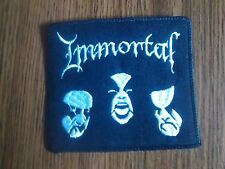 IMMORTAL # 2,SEW ON EMBROIDERED PATCH
