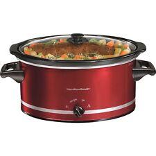 Slow Cooker Crock Pot 8 Quart Large Capacity Kitchen Accessories Dishwasher Safe