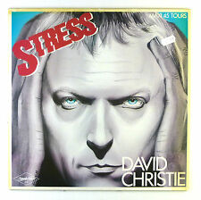 """12"""" Maxi - David Christie - Stress - C1587 - washed & cleaned"""