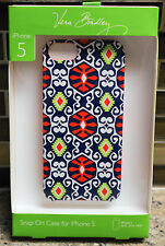 New Vera Bradley Snap On Smartphone Cell Phone Case for iPhone 5 in SUN VALLEY