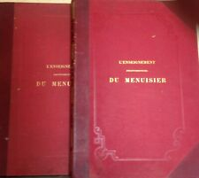 L enseignement du menuisier tome 1 et 2  Leon Jamin