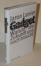 Jaron Lanier - Gadget. Warum die Zukunft uns noch braucht | Internet  NEU Folie
