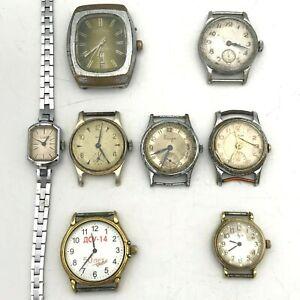 Retro Cornavin Fridge Calendar Luch Pobeda ZIM Watch LOT Mechanical USSR TESTED