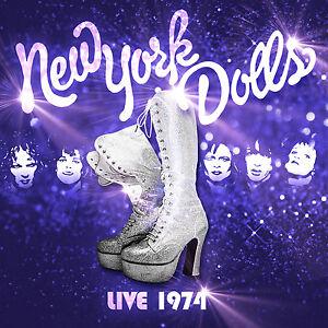 CD The New York Dolls Live 1974  cd  die Punkrarität aus New York endlich auf CD