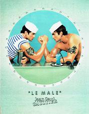Publicité Advertising  038  1998   parfum Le Male par JP Gaultier