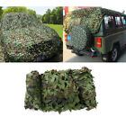 32.8ft x 5ft Woodland Leaves Military Camouflage Net Hunting Camo Cover Netting