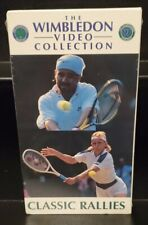 Classic Rallies from Wimbledon Tennis Video Collection - RARE VHS - Brand New
