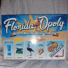Floridaopoly Board Game Factory Sealed