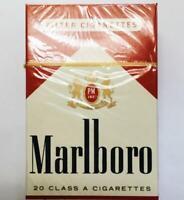 Empty Box of Vintage Retro USA Marlboro  Cigarettes Collectible Fof Soviet USSR
