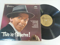 "FRANK SINATRA THIS IS SINATRA CAPITOL USA EDITION 1956 MONO LP VINILO 12"" G+/G+"