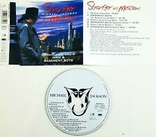 Michael Jackson ‎– Stranger In Moscow  Cd Single Singolo