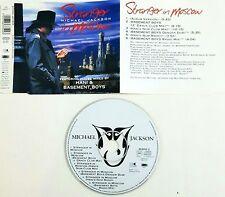 Michael Jackson – Stranger In Moscow  Cd Single Singolo