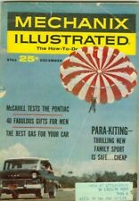 1962 Mechanix Illustrated Magazine:Gifts For Men, Para-Kiting, Best Gas For Cars