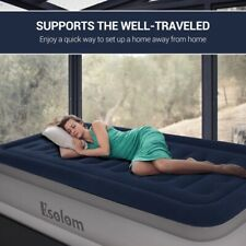 "Twin Air Mattress Air Bed Blow Up Mattress Inflatable Raise Size 75*39*18"" New"