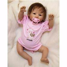 "20""/50cm Silicone Vinyl Baby Girl Reborn Dolls Lifelike Handmade Newborn Doll"