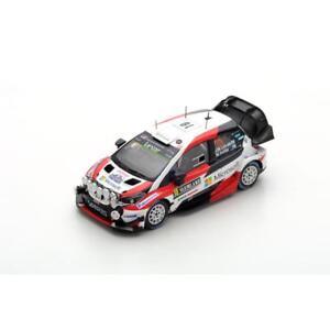 1/43 Toyota Yaris WRC  Gazoo Racing  Winner Rally Sweden 2017   J.M.Latvala
