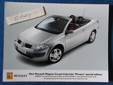 "Original Press Promo Photo - 8""x6"" - Renault - Megane Monaco - 2005"