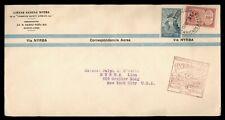 DR WHO 1930 ARGENTINA FIRST FLIGHT NYRBA BUENOS AIRES TO NY USA  g09384