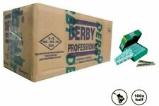 Derby Professional Stainless Single Edge Razor Blades- Box of 50pack X 100Blades