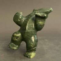 Inuit Art Eskimo carving Etulu Salamonie  Bear   #66388    2019