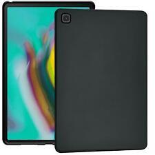 TPU Silikon Schutz Hülle Cover Slim Case Schwarz Matt Tablet Tasche dünn Etui