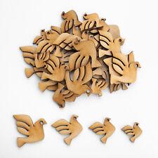 Wooden MDF Shapes Bird Nautical Craft Scrapbook Embellishments Card Decoration